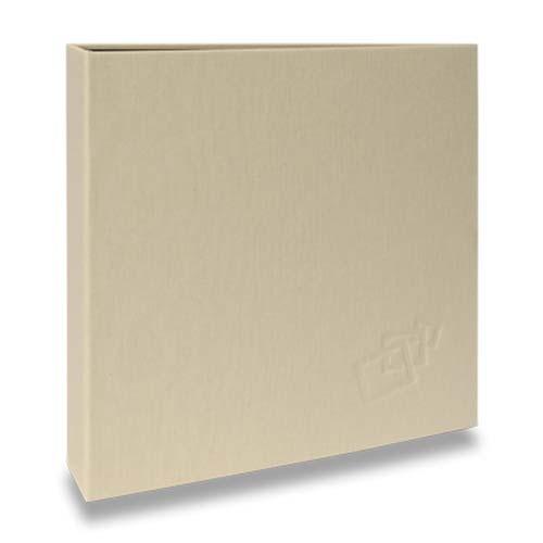 Álbum de Fotos Scrap Bege - 15 Folhas - Livre Colagem - 23x23 cm