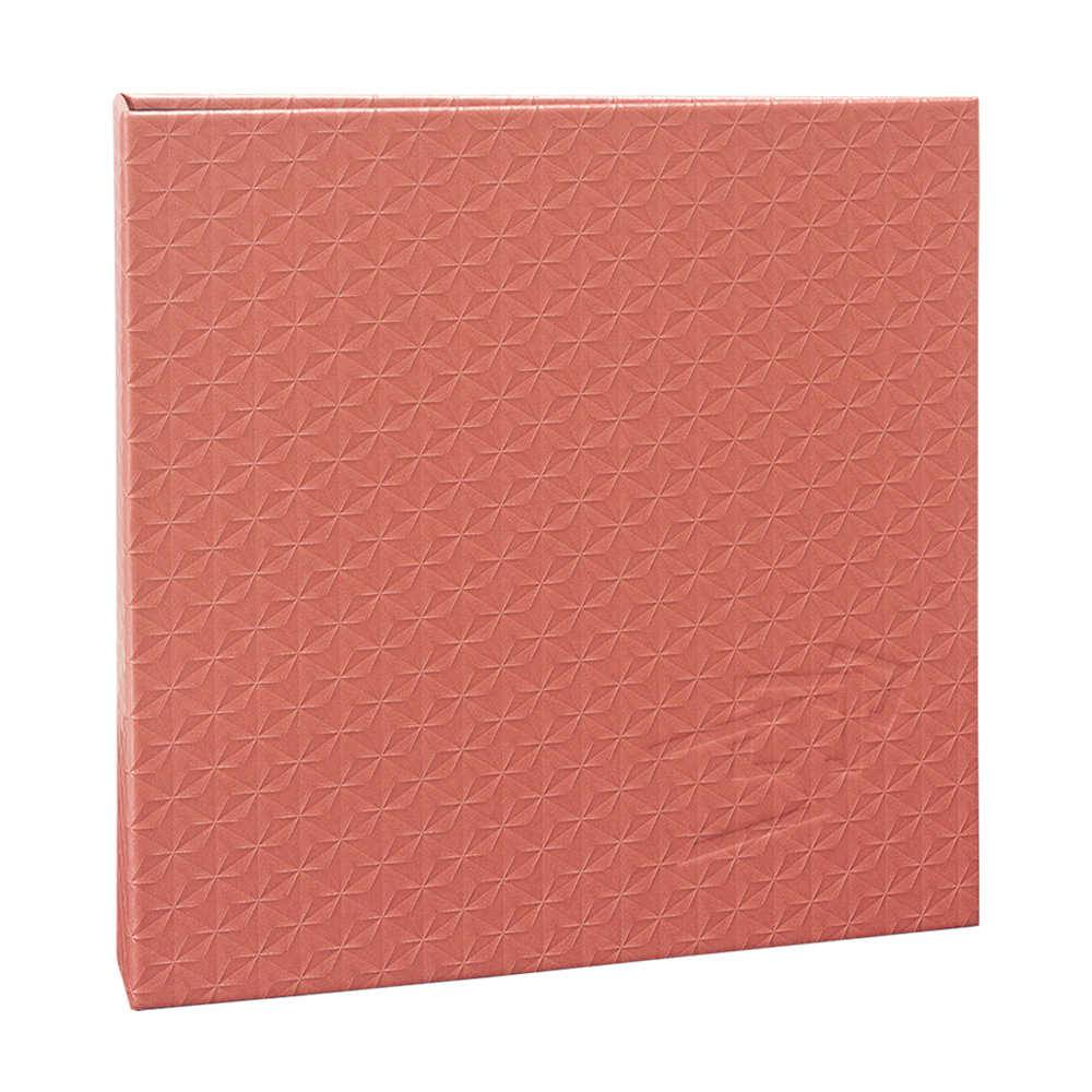 Álbum de Fotos Scrap Coral - 15 Folhas - Livre Colagem - 23x23 cm