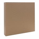 Álbum de Fotos Scrap Marrom - 15 Folhas - Livre Colagem - 23x23 cm