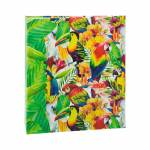 Álbum de Fotos Tropical Aves 150 Fotos 15x21 cm com Ferragem