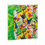 Álbum de Fotos Tropical Aves 300 Fotos 13x18 cm c/ Ferragem