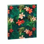 Álbum Tropical Hibiscos - 400 Fotos 10x15 cm - com Ferragem