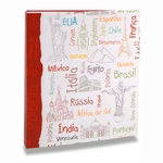Álbum de Fotos Viagem - 200 Fotos 10x15 cm - Países