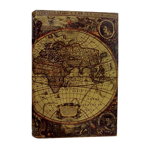 Álbum de Fotos Autocolante - 30 Páginas - World Map Oldway - 36x34 cm