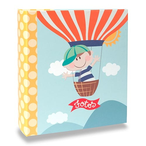 Álbum Infantil - 200 Fotos 10x15 cm - Happy Boy - 24,8x21,6 cm