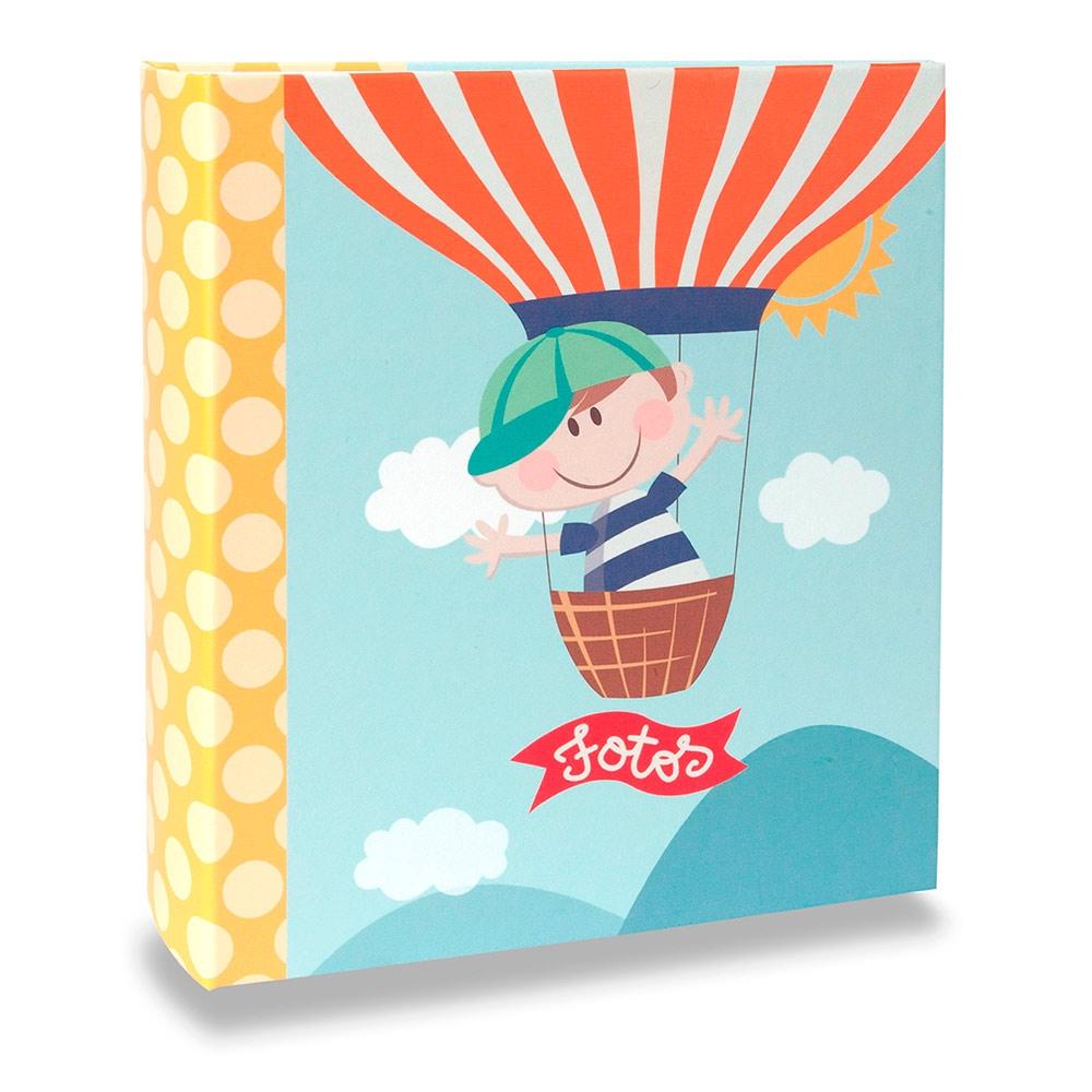 Álbum Infantil - 80 Fotos 13x18 cm - Happy Boy - 19,2x15 cm