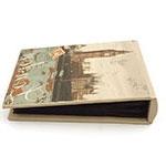 Álbum London Big Ben Oldway - 80 Fotos 10x15 cm - em Tecido