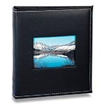 Álbum Prestige com Janela - 200 Fotos 13x18 cm - Preto