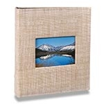 Álbum Prestige com Janela - 400 Fotos 10x15 cm - Bege