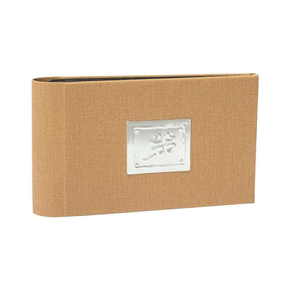 Álbum Stilo Bege - 60 Fotos 15x21 cm - com Capa Vinílica - 25,6x16,8 cm