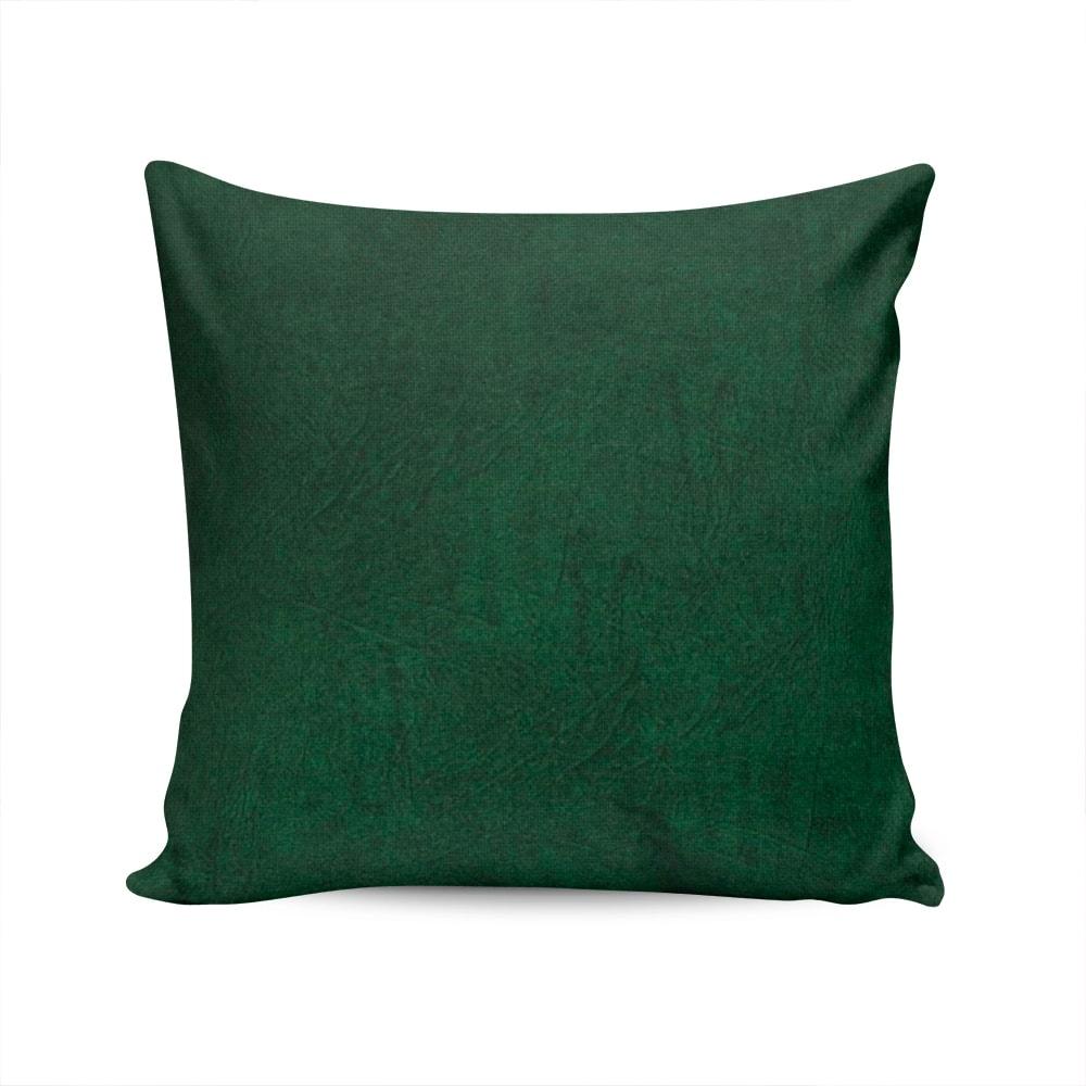 Almofada Acquablock Lisa Verde Capa em Algodão - 45x45 cm