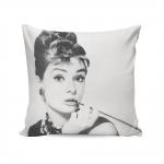 Almofada Audrey Hepburn Sexy - 37x37 cm