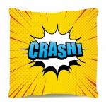 Almofada crash estilo pop art