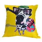 Almofada Dog Pongo em Poliester - 40x40 cm