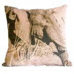 Almofada Elefante África em Tecido