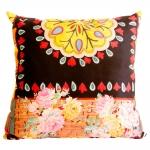 Almofada Estampa Floral em Tecido - 45x45 cm