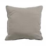 Almofada Fine Linen Cinza em Tecido - 45x45 cm
