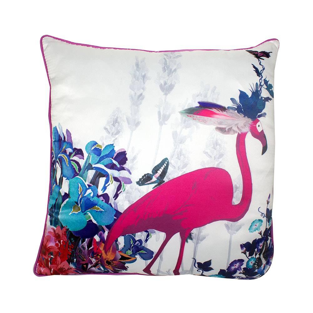 Almofada Flamingo Fullway - 45x12 cm