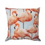 Almofada flamingos rosa