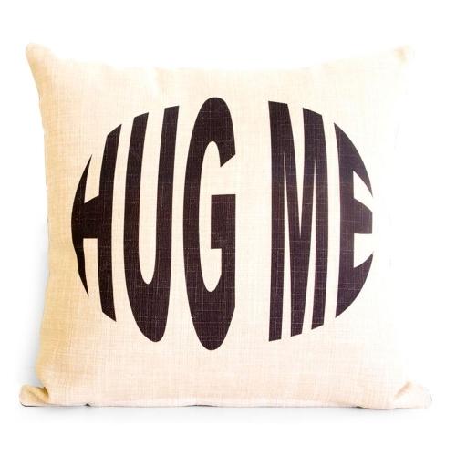 Almofada Hug Me em Tecido - 45x45 cm