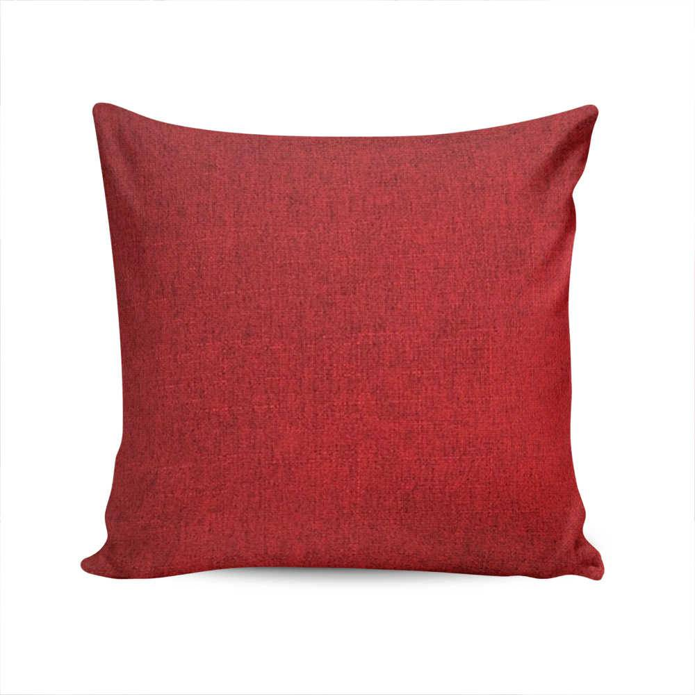 Almofada Lisboa Vermelha - Capa em Poliéster - 45x45 cm