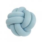 Almofada nó azul pastel