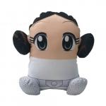Almofada princesa Leia caricatura