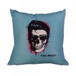 Almofada Skull Elvis Presley em Poliéster - 43x43 cm