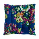 Almofada Tanka Floral Colorida em Algodão - 40x40 cm