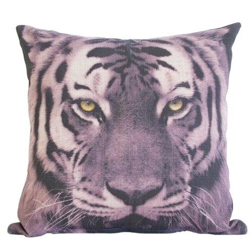 Almofada Tigre em Tecido - 45x45 cm