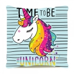 Almofada time to be a unicorn
