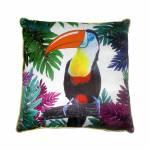 Almofada Tucano Colorido Fullway - 45x12 cm