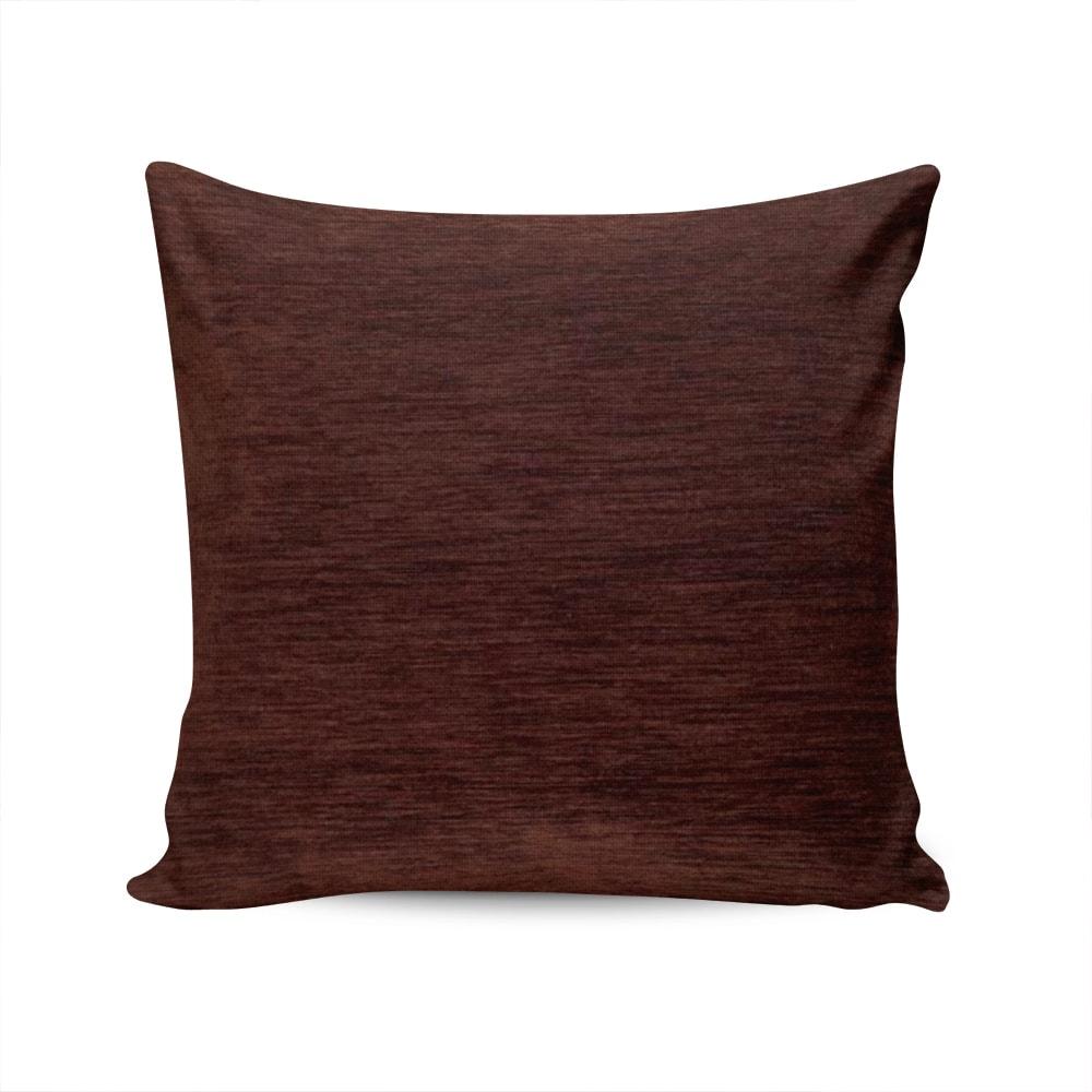 Almofada Turin Tabaco com Capa em Chenile - 45x45 cm