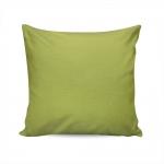 Almofada Waterblock Verde Lisa com Capa em Algodão 45x45 cm