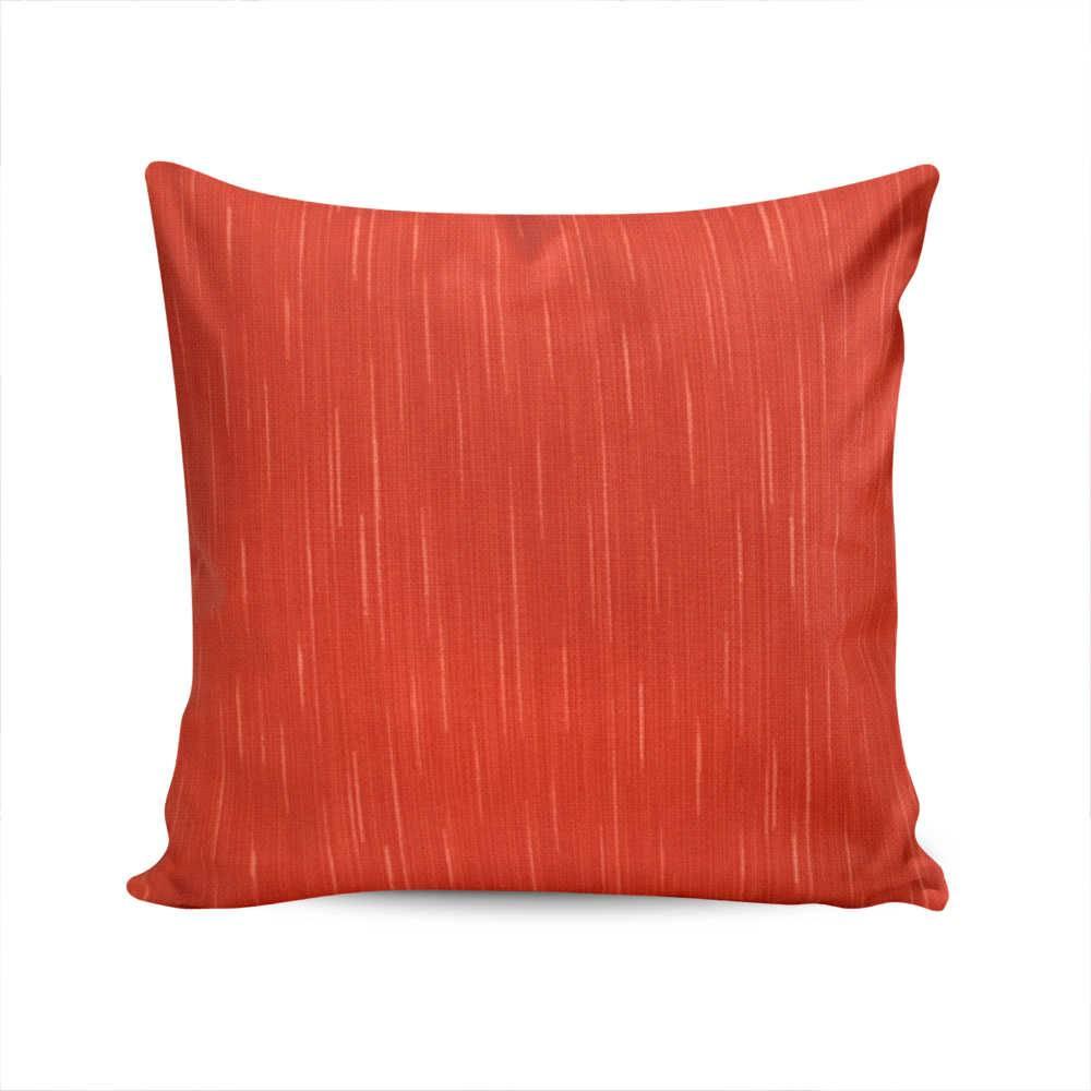 Almofada Waterblock Vermelha com Capa em Algodão - 45x45 cm