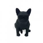 Amplificador cachorro grande preto