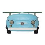 Aparador Frente Fiat 500 Azul Oldway - 64x37 cm