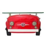 Aparador Frente Fiat 500 Vermelho Oldway - 64x37 cm