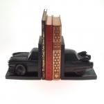 Aparador de Livros Cadilac Preto - 27x14 cm