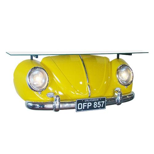 Aparador Réplica Beetle 1953 Amarelo - 106x55 cm