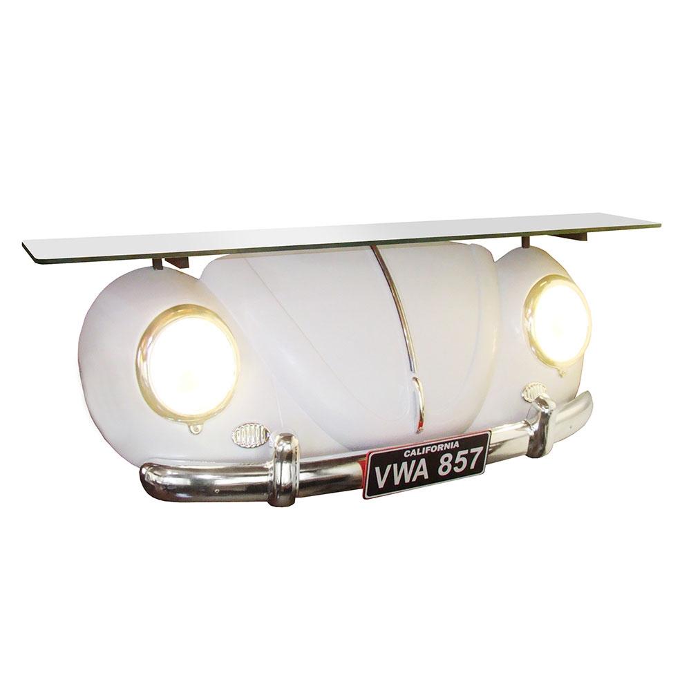 Aparador Réplica Beetle 1953 Branco - 106x55 cm
