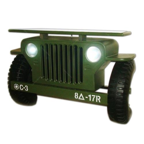 Aparador Réplica Jeep Militar 1942 - 100x70 cm