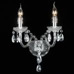 Arandela Candle Transparente - Bivolt - em Acrílico e Metal