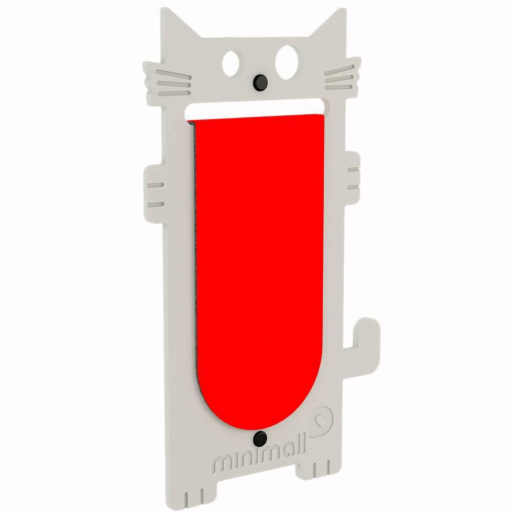 Arranhador para Gatos Cat Scratch Cinza em MDF - 53x29 cm