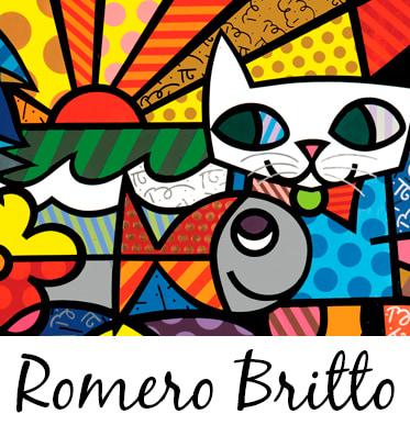 Compre produtos Romero Britto