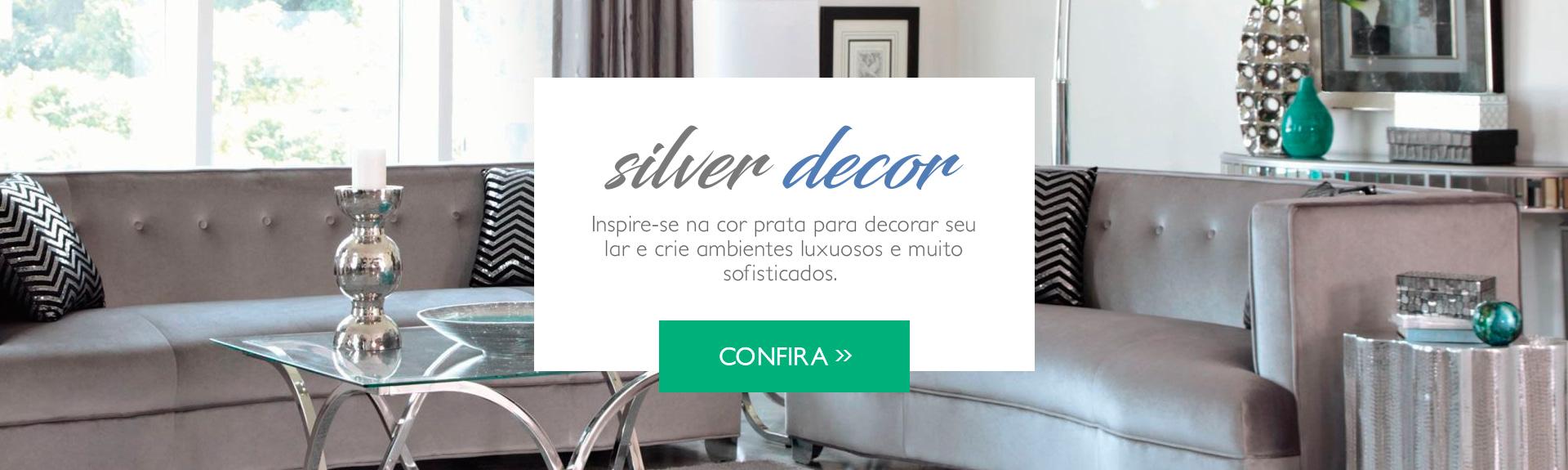 Decoração em prata >>