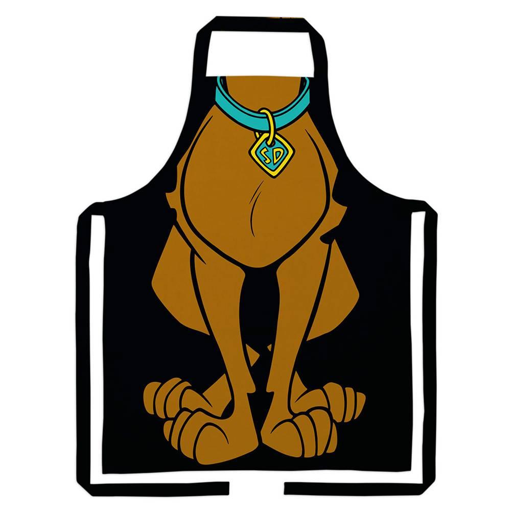 Avental Hanna Barbera Scooby Body em Algodão - Urban - 80x70cm