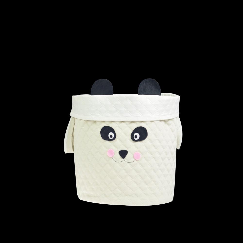 Balaio panda branco