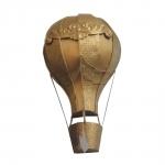 Balão Decorativo Vazado de Parede em Metal - 48x26 cm
