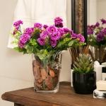 Balde para Garrafas/Vaso Premium em Vidro Transparente
